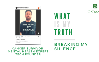 Breaking my silence